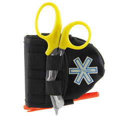 Tactical Design - Case for CPR face mask and scissors without or with Glo-Flex