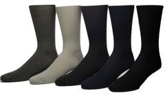 Vagden Non Elastic Top Merino Dress Socks