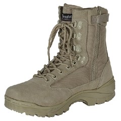 9  Tactical Boots  (Khaki, Tan