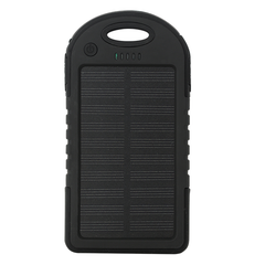 Mil-Spec MSP Compact Portable Solar Charger - Black