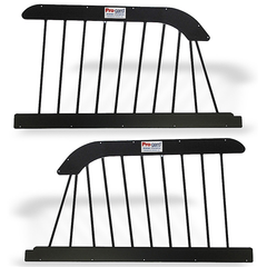 Pair, Steel Window Barrier (for use with O.E.M. door panels only)