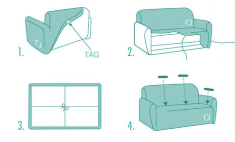 Awesome Sizing And Instructions Couchcase Cjindustries Chair Design For Home Cjindustriesco