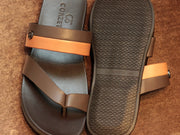 Tan Brown Slippers (80786B)