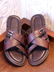 Brown Slippers (016602)