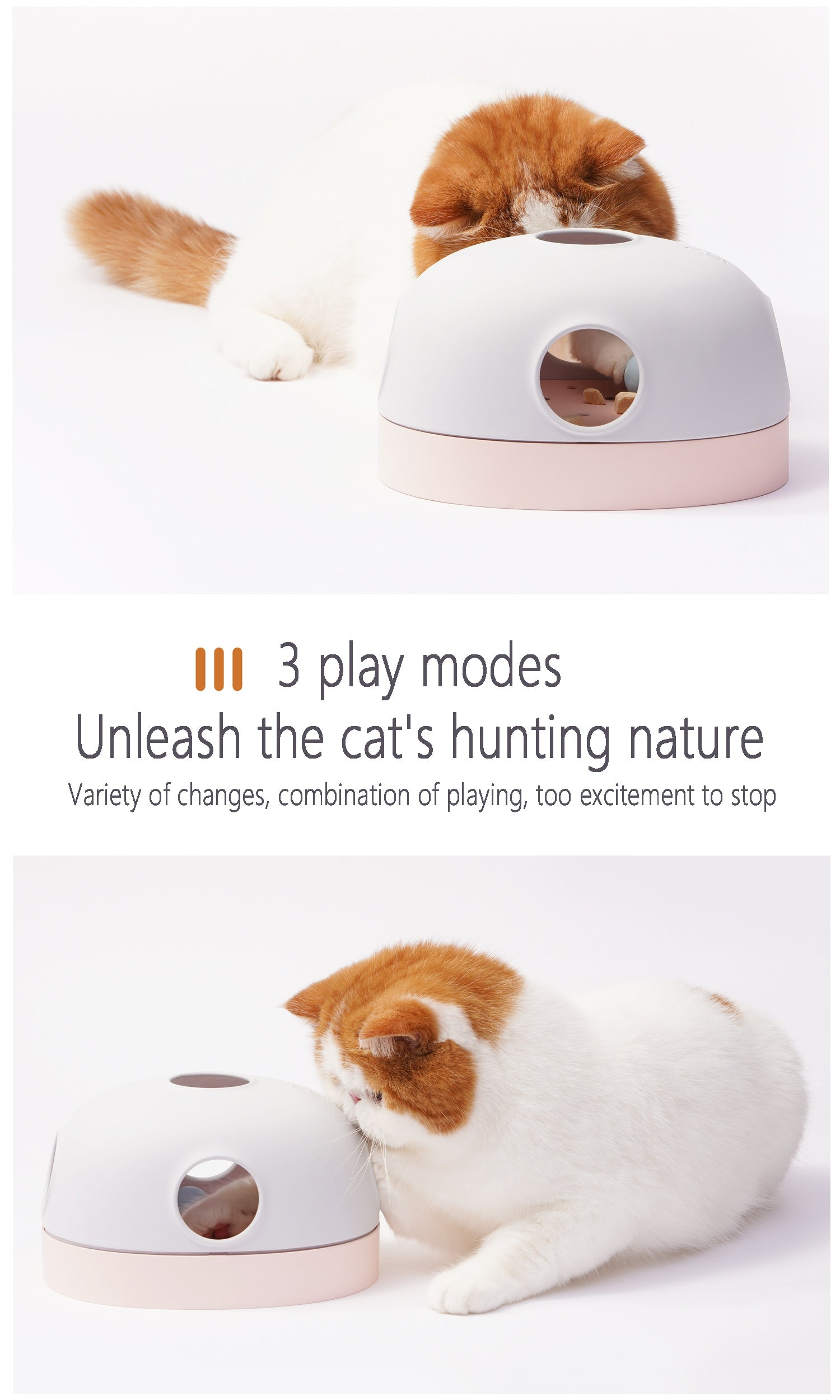 hola cat toy 3 play modes