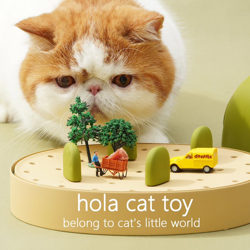hola cat toy cat's little world