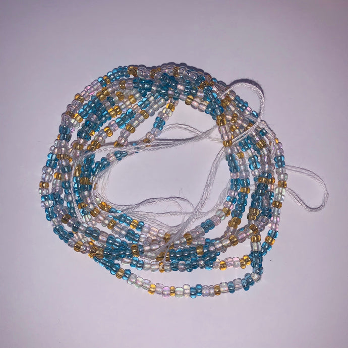 Ocean Tie on Waist Bead