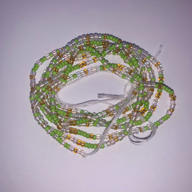 Apple Tie on Waist Bead