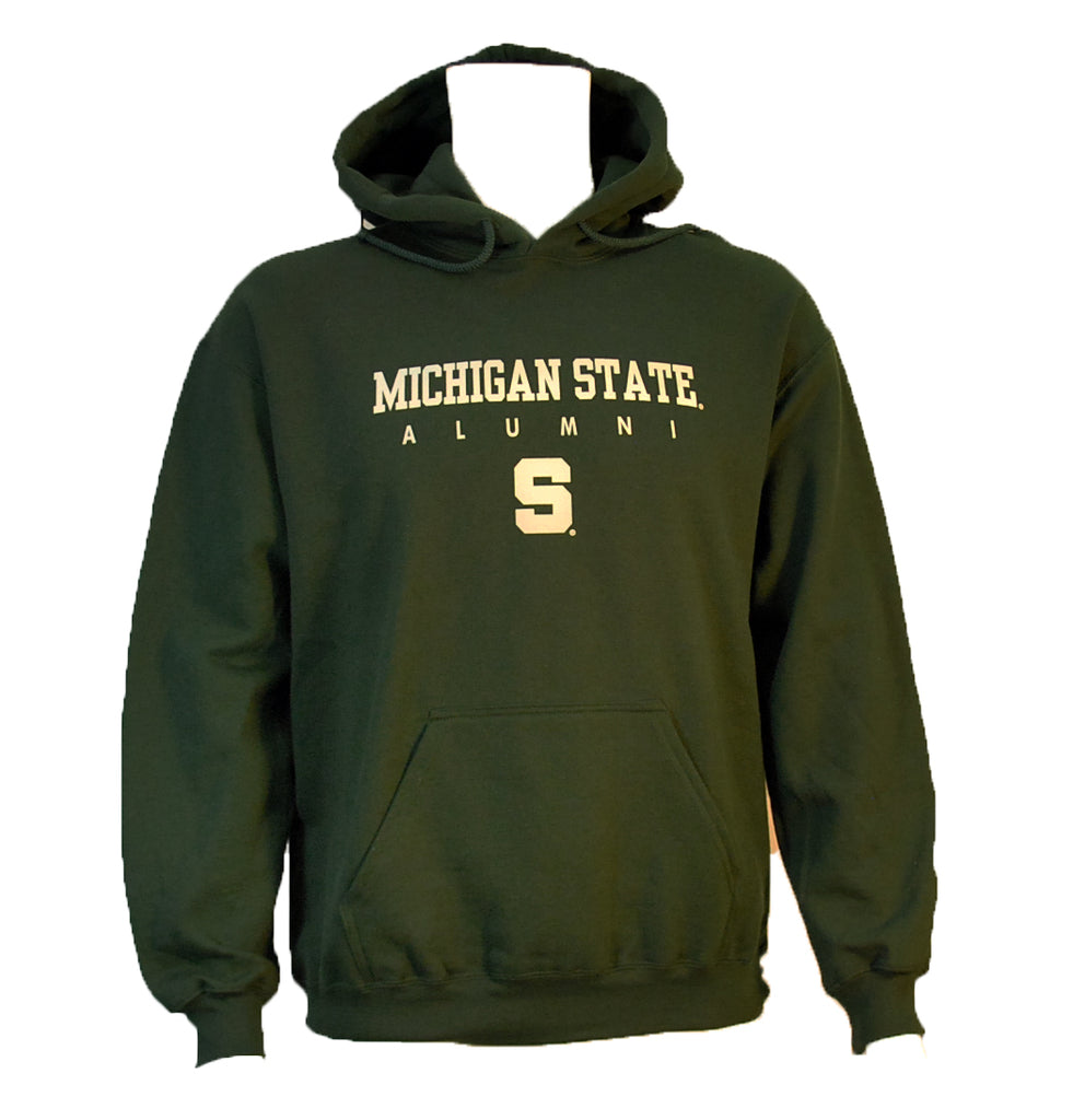 "MSU ""S"" Alumni Hooded Sweatshirt"