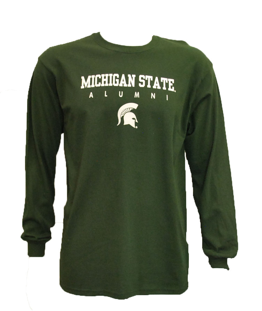 Michigan State University Alumni Sparty Long Sleeve T-Shirt