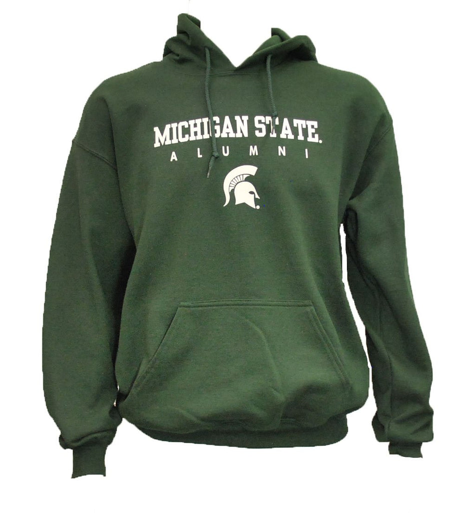 MSU Spartan Head Alumni Hooded Sweatshirt