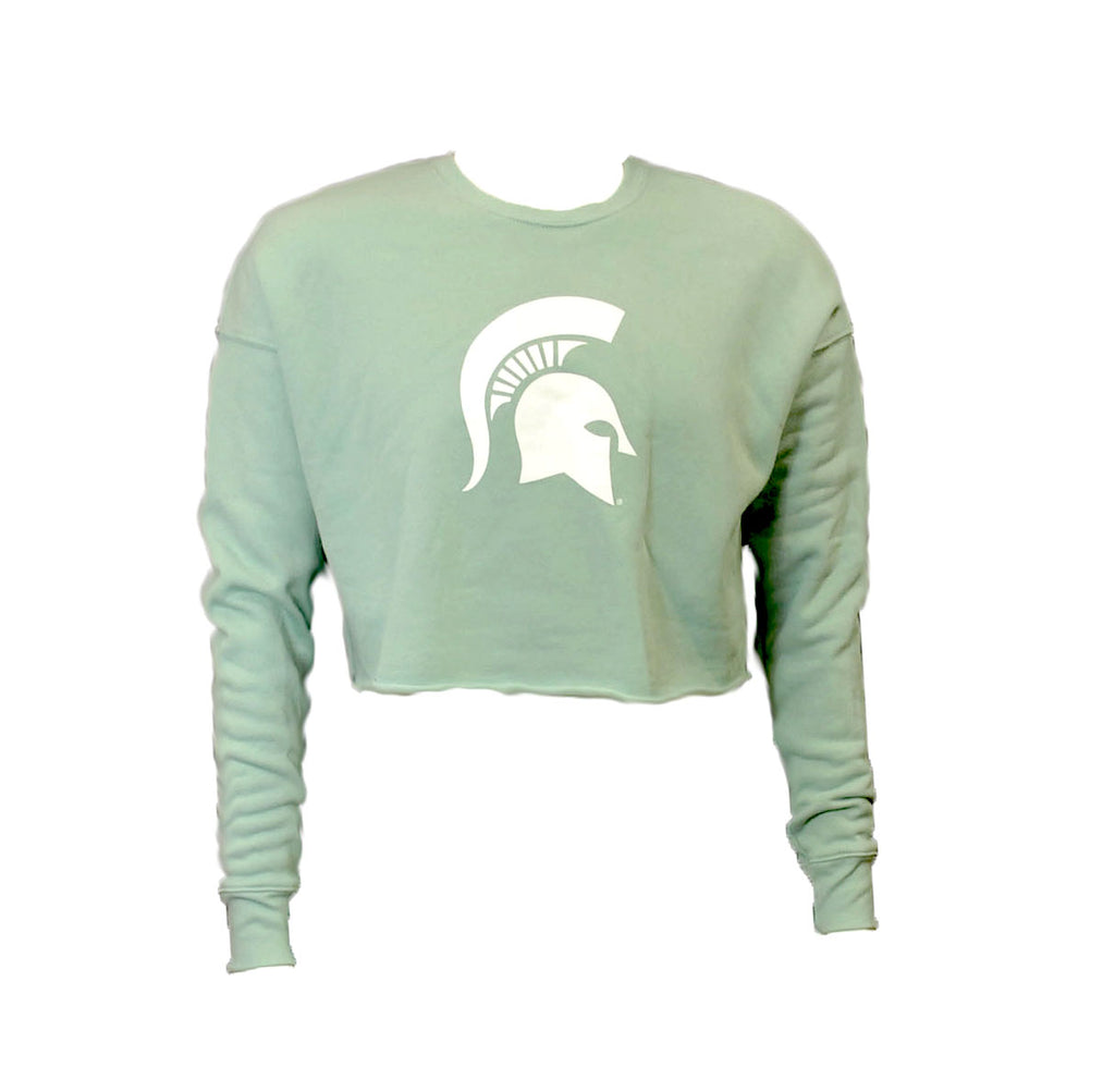 MICHIGAN STATE CROPPED FLEECE