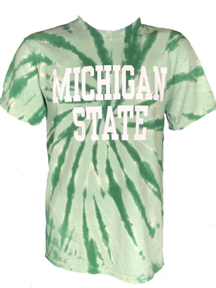 MICHIGAN STATE TIE DYE T-SHIRT