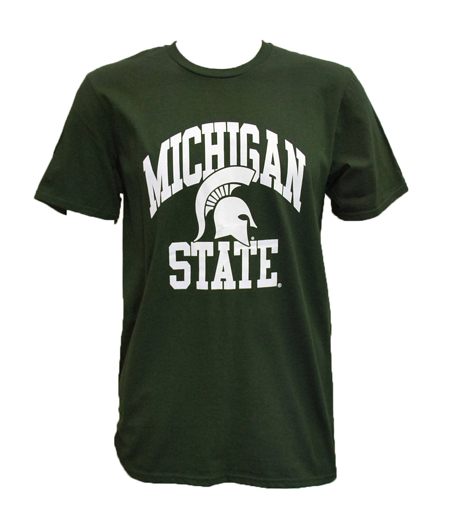 Michigan State Spartan Helmet T-Shirt