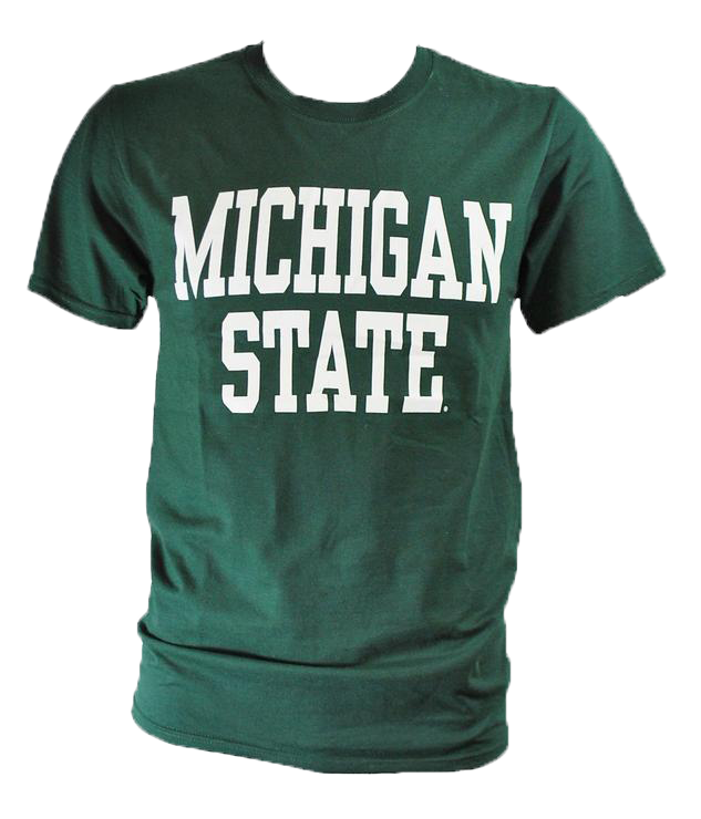 Michigan State Forest T-Shirt- Block