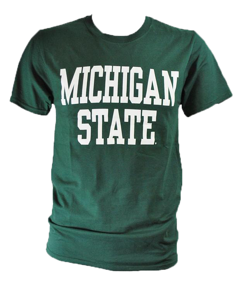MICHIGAN STATE T-SHIRT FOREST GREEN