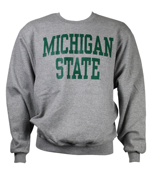 BEST BUY: Michigan State Crewneck Sweatshirt- Block