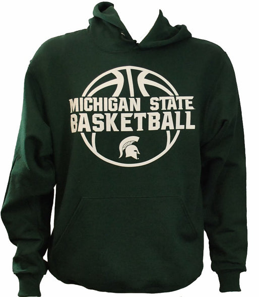 MICHIGAN STATE BASKETBALL HOODIE FOREST GREEN