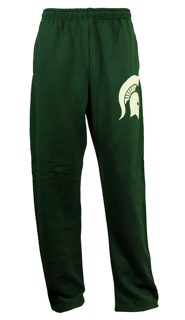 Michigan State Sweatpants- Sparty  (Open Bottom)