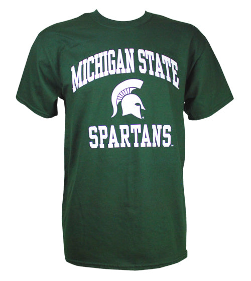 MICHIGAN STATE SPARTANS T-SHIRT FOREST GREEN