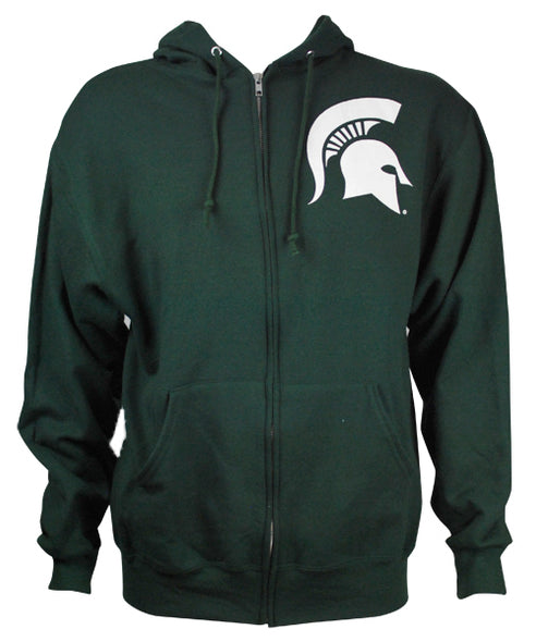 MICHIGAN STATE GREEN FULL ZIP
