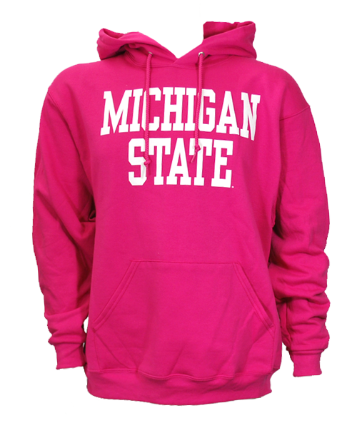 Michigan State Hooded Sweatshirt- Block