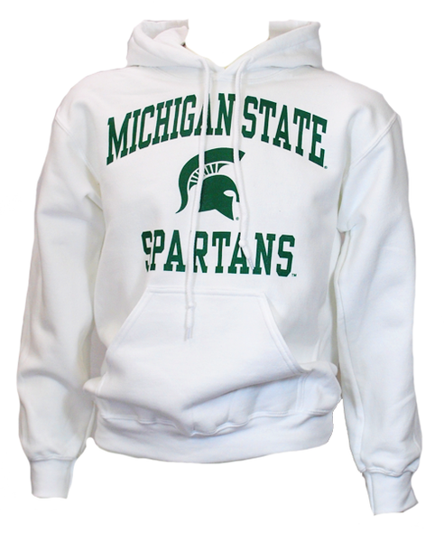 Michigan State DryBlend Heavy Weight Pullover Hooded Sweatshirt (Classic Colors)- Sparty