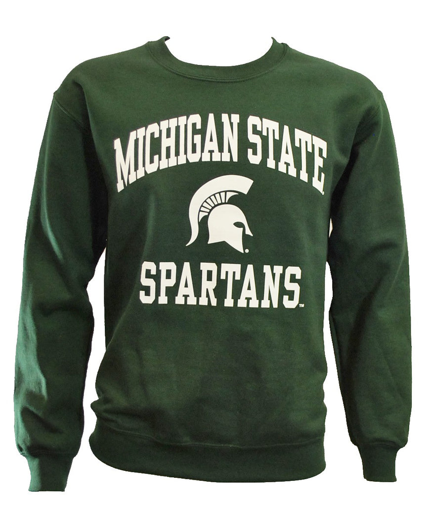 MICHIGAN STATE SPARTANS FOREST GREEN CREWNECK SWEATSHIRT