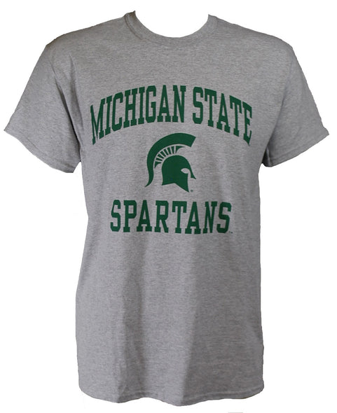 MICHIGAN STATE SPARTANS T-SHIRT GREY