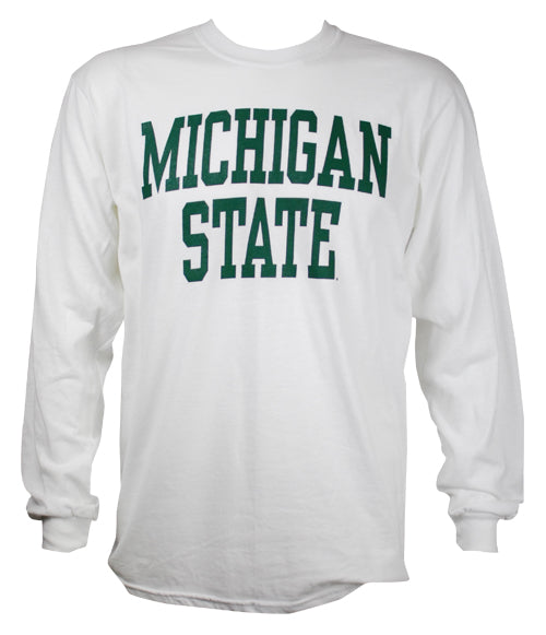 MICHIGAN STATE WHITE LONGSLEEVE