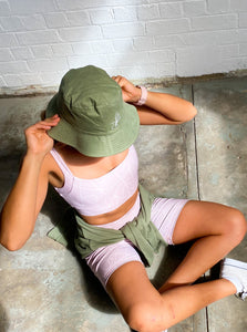Bucket Hat Green | Harris and Hunter