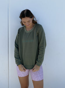 Match Jumper | Green