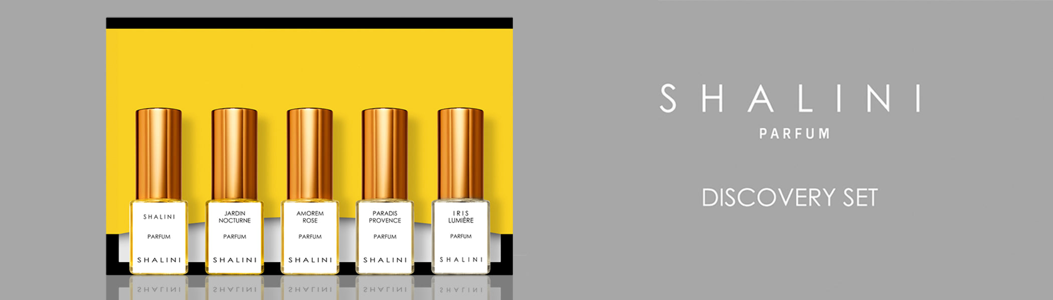 Shalini Parfums Discovery Set Collection | Neverabore.com