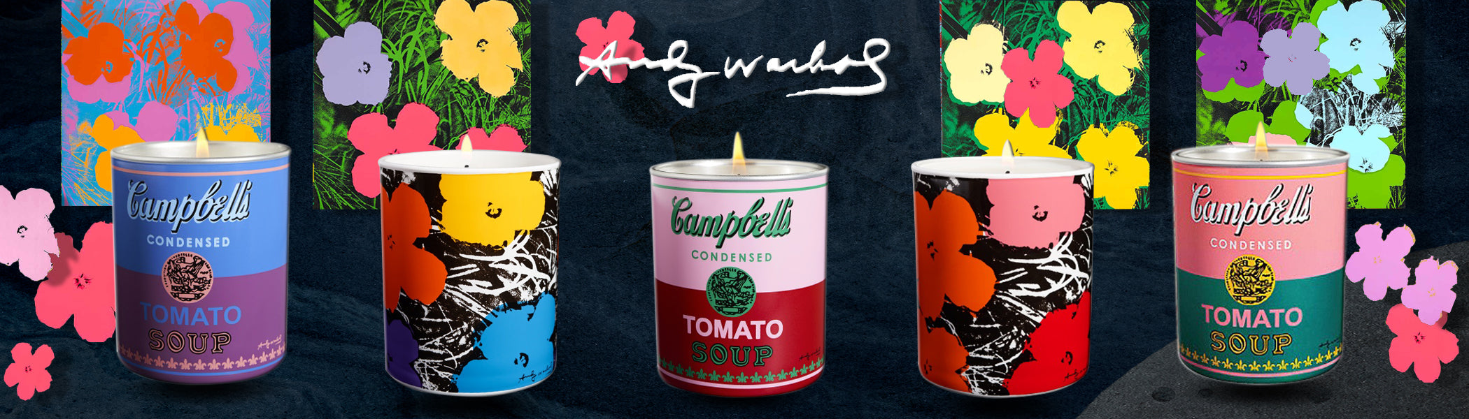 Andy Warhol Candles Collection | Neverabore.com