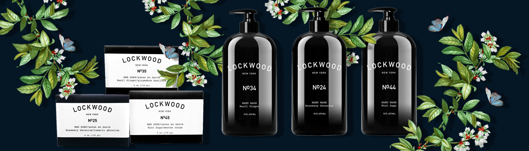 Luxurious Lockwood Soaps Collection | Neverabore.com