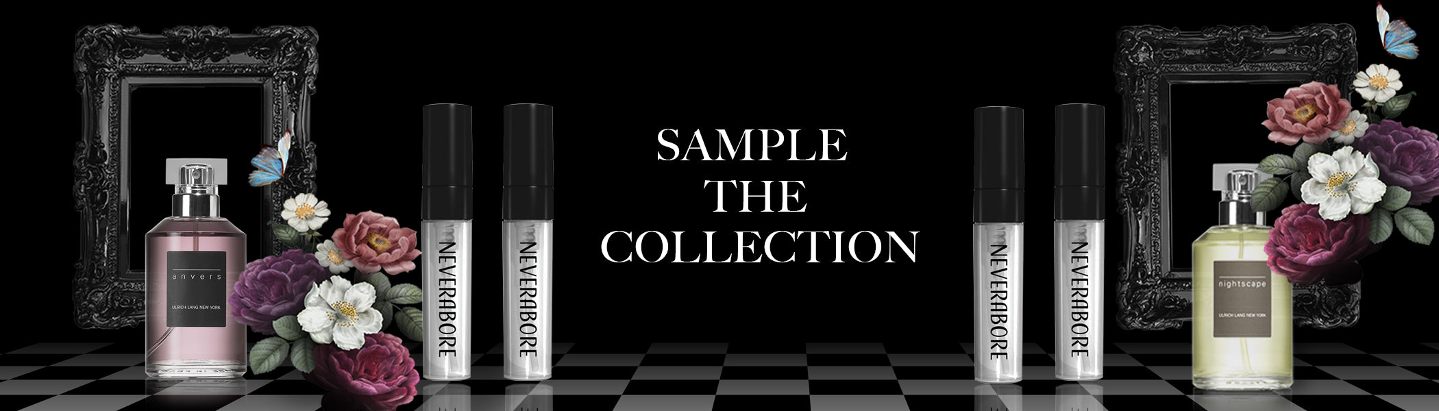 Ulrich Lang Sample Perfume Collection | Neverabore.com