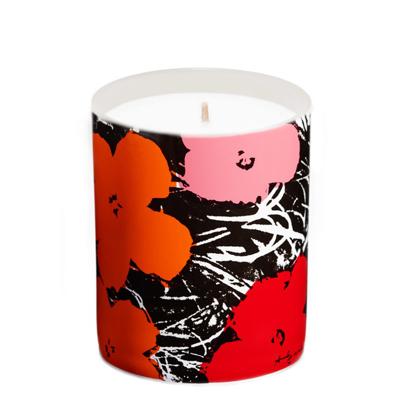 Flowers Red/Pink | Candle 5oz - NEVERABORE