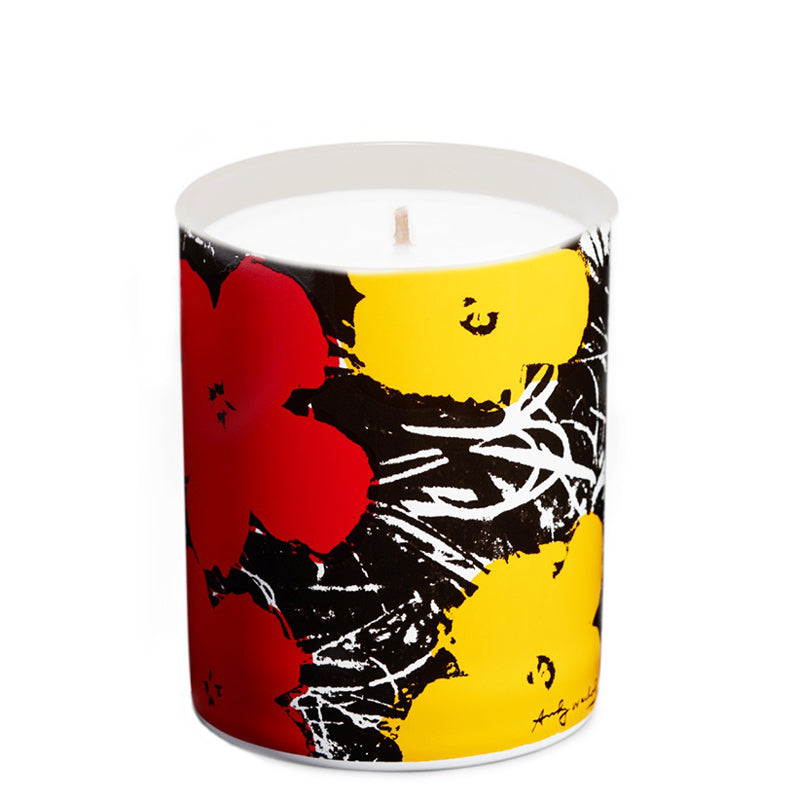 Flowers Yellow/Red | Candle 5oz - NEVERABORE