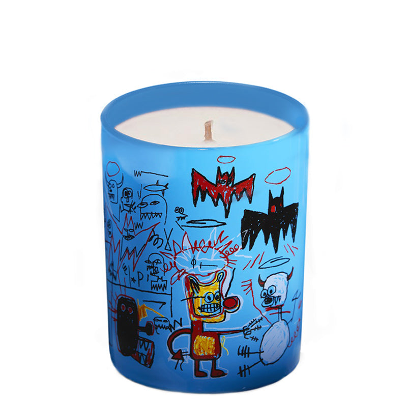 Basquiat Blue | Candle 5oz - NEVERABORE