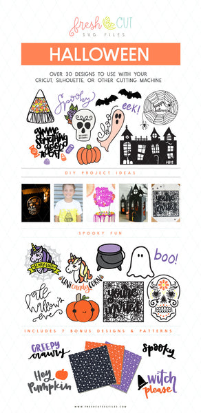 30+ Halloween SVG Files