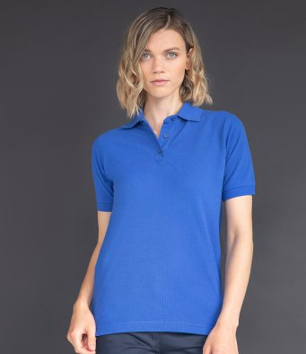 H401 Henbury Ladies Poly/Cotton Piqué Polo Shirt