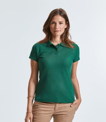 539F Russell Ladies Classic Piqué Polo Shirt