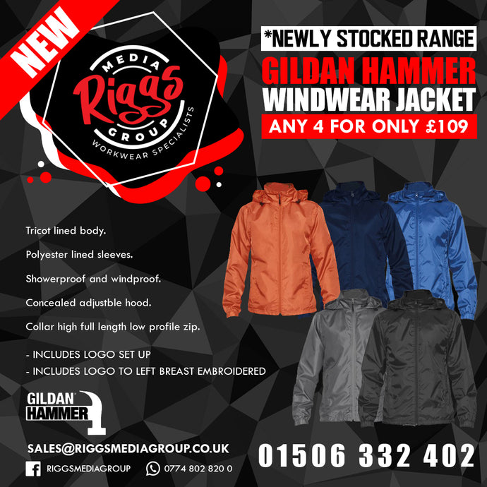 Gildan Hammer Windwear Jacket 4 for £109