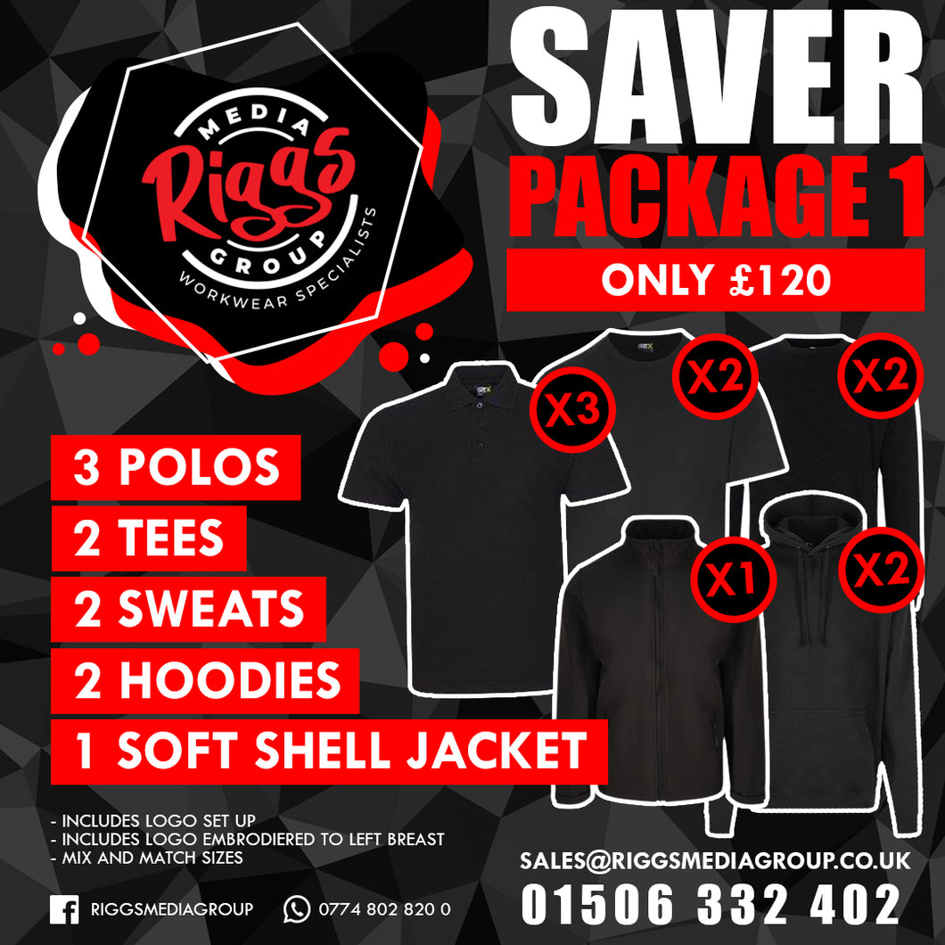 Saver Package 1 - £120