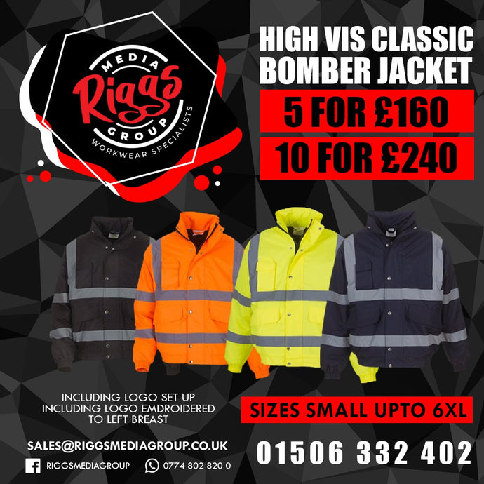 High Vis Bomber Jacket Package