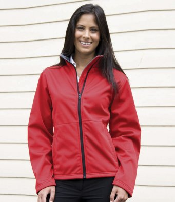 RS209 - Result Core Ladies Soft Shell Jacket