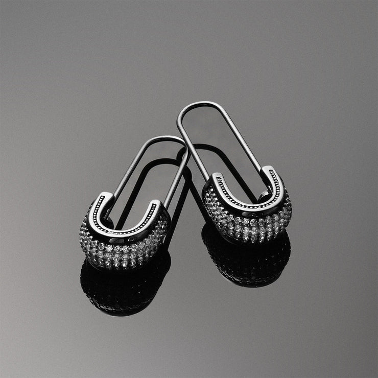 Black Rhodium Plated Silver