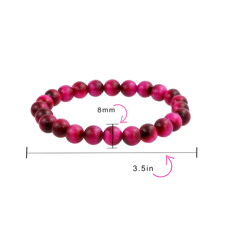 Fuchsia Tigers Eye