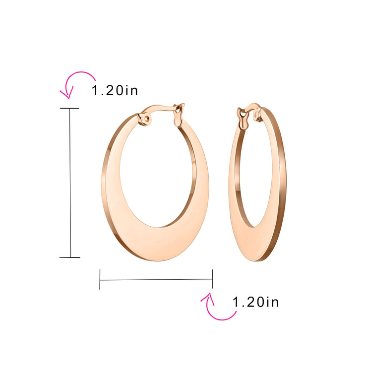 Rose Gold Plated Stainless Steel