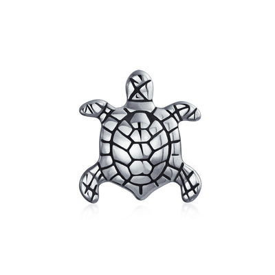 Nautical Sea Turtle Tropical Vacation Tortoise Bead Charm 925 Sterling